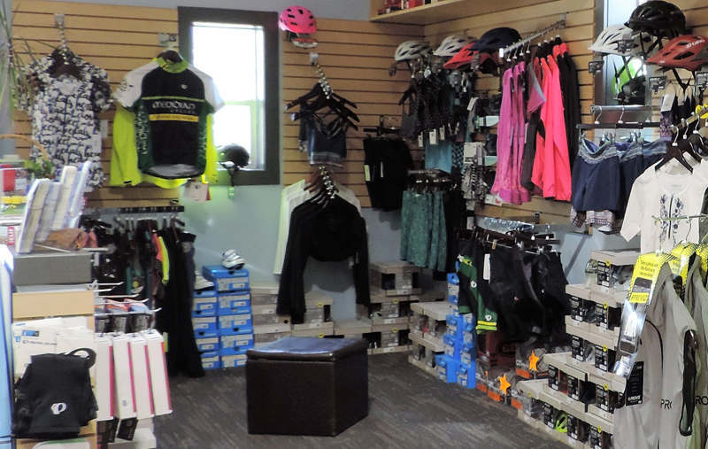 Meridian Cycles Showroom Displays